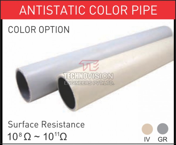 Antistatic Color Pipe